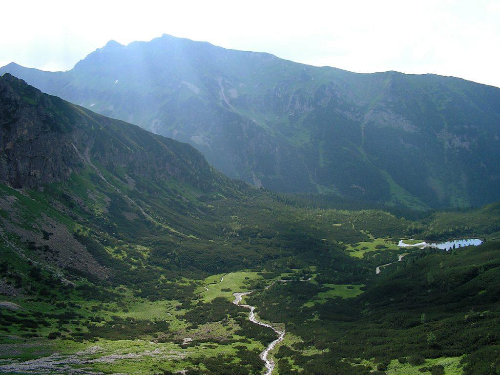 Javorová dolina a Zadné Meďodoly