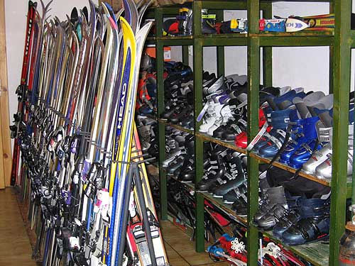 Požičovňa lyží Ždiar – Penzión Krasuľa