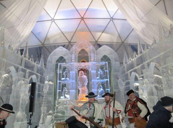 Účasť na ľadovej šou a koncerte na Hrebienku
