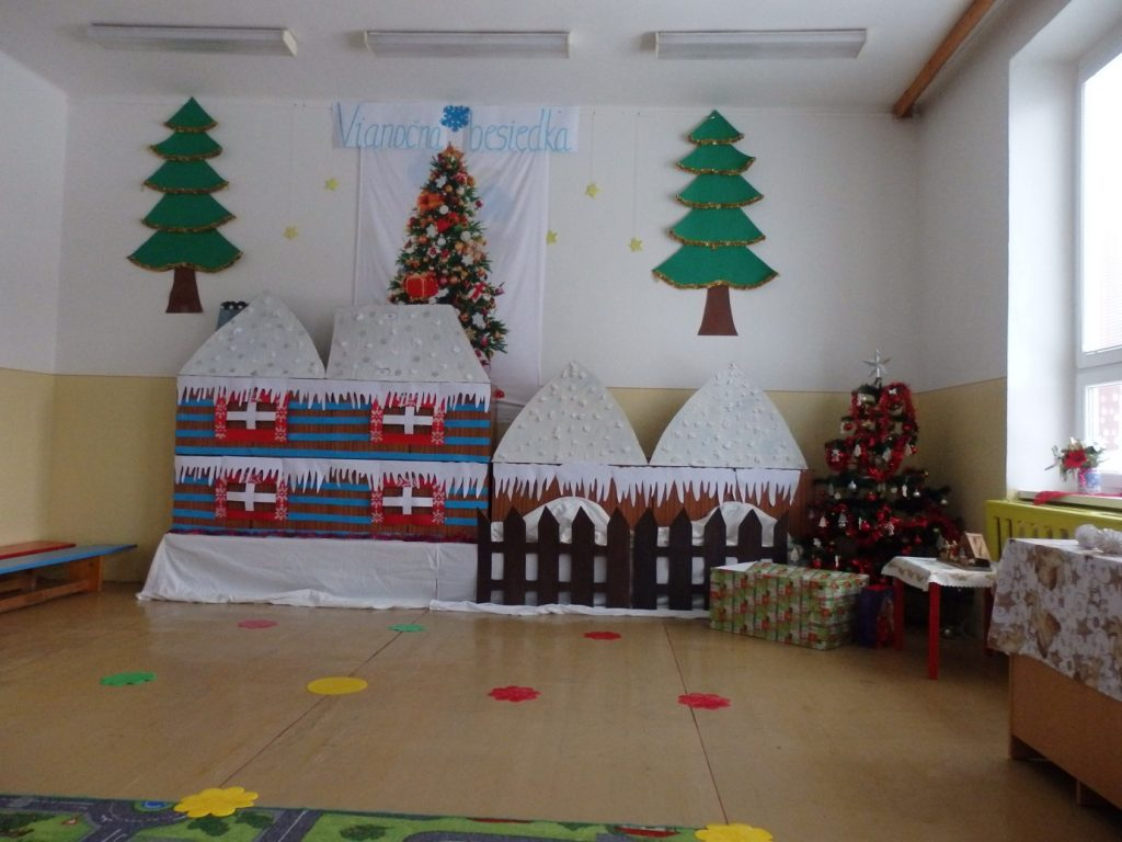 Vianočná besiedka v materskej škole